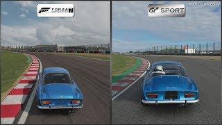 Forza Motorsport 7 vs Gran Turismo Sport - Alpine A110 1600S