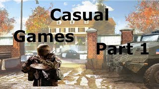 Casual Games Part 1 (Rainbow six siege)