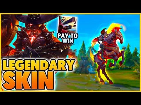 *LEGENDARY SKIN* THE BEST SKIN IN LEAGUE OF LEGENDS (HIDDEN FEATURE) - BunnyFuFuu| League of Legends