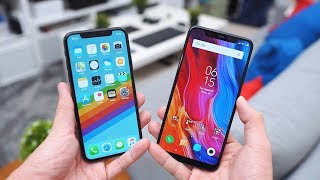 Desain mirip iPhone + spek tinggi + murah = Xiaomi Mi 8
