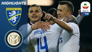 Frosinone 1-3 Inter   Inter Boost Third Place Hopes With Win At Frosinone   Serie A