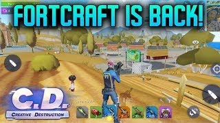 CREATIVE DESTRUCTION GAMEPLAY - iOS / ANDROID - #1 (FORTCRAFT ?)