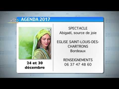 Agenda du 18 décembre 2017