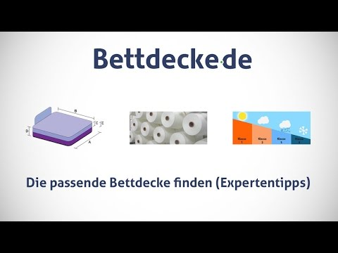 Bettdecke.de - Die passende Bettdecke finden (Expertentipps)