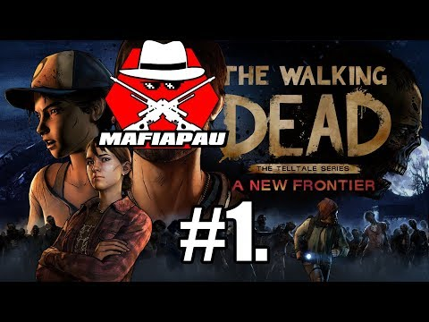 The Walking Dead: New Frontier Episode 1 | CZ FULL GAMEPLAY | 1080p60 (without Javi talk)