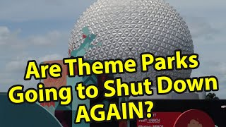 Are The Theme Parks Going To Shut Down Again? | A Taste Of Epcot Food & Wine Festival