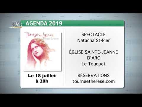 Agenda du 7 juin 2019