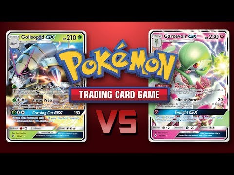 Table Top Pokemon – Gardevoir GX vs Golisopod GX / Zoroark GX – TCG Game Play