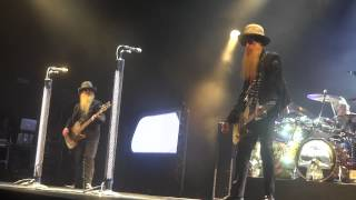 ZZ Top - I Thank You - Waitin' For The Bus & Jesus - Live @ l'Olympia - 27-07-2012