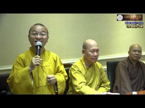 Vấn đáp: Từ bi hỉ xả trong kinh doanh, tiêu thụ thông tin, nông nghiệp Việt Nam, Phật giáo và đời sống xã hội, lời Phật dạy trong văn hóa doanh nghiệp, nông nghiệp sạch, tạo nghiệp lành, nuôi dạy con cái, quản trị nhân sự