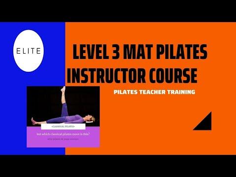 Level 3 Mat Pilates Instructor Course   Pilates Teacher Training ...