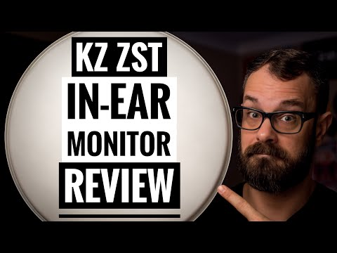 KZ ZST Review (A Drummer's Perspective) Bearded Drums ( Episode 42)