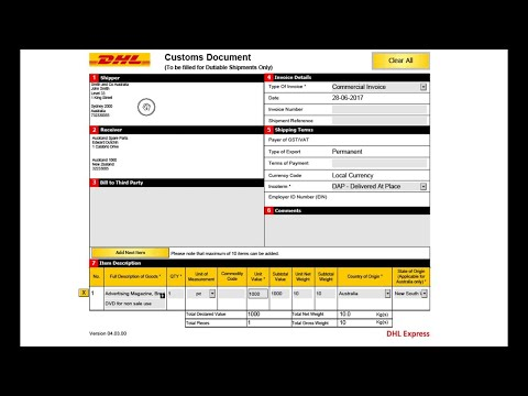 Dhl form - Fill Out and Sign Printable PDF Template   SignNow