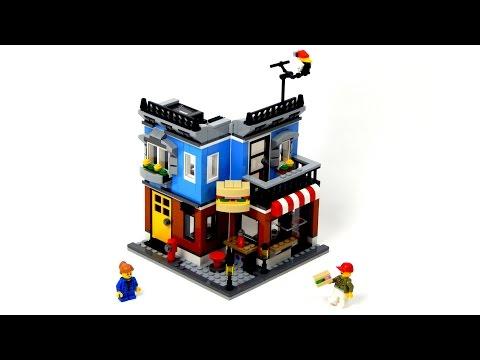 Vidéo LEGO Creator 31050 : Le comptoir Deli
