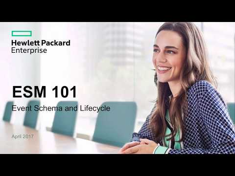 ArcSight ESM 101 training - part 1 - lifecycle of events - YouTube