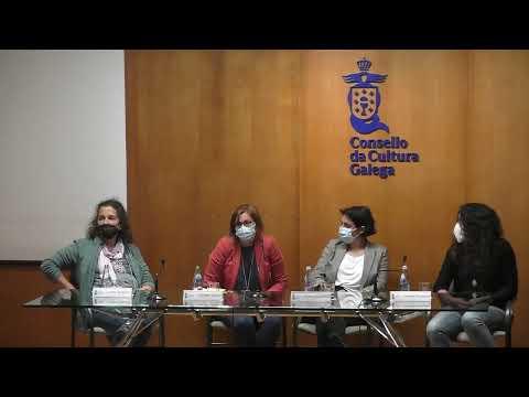 Coloquio sobre o documental Dereito a existir: falan elas, dirixido por Cristina de la Torre e Carme Adán para o Consello da Cultura Galega