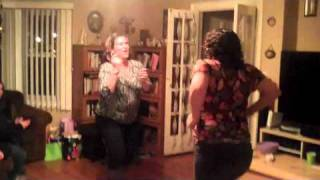 """Iris and Maria dancing freestyle to TKA's hit song, """"Maria"""": 1/15/11"""