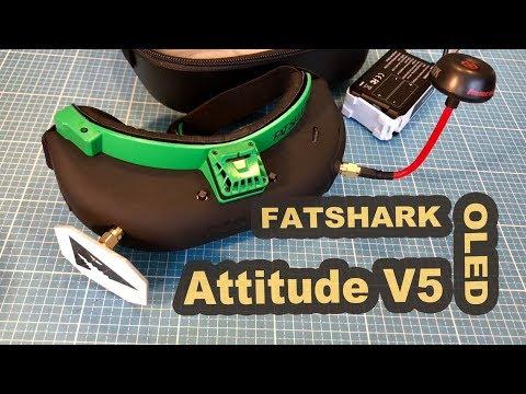 Fatshark Attitude V5 OLED Display FPV goggles