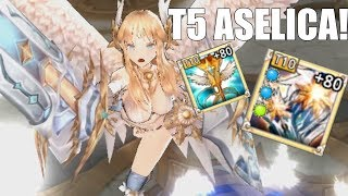 BEST TANK?! King's Raid - Getting And Maxing Out Aselica!