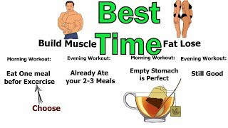 MORNING or EVENING Workout!!! Which is Best Time to Exercise?
