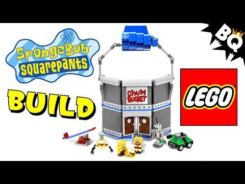 Vidéo LEGO Bob l'éponge 4981 : Le Chum Bucket