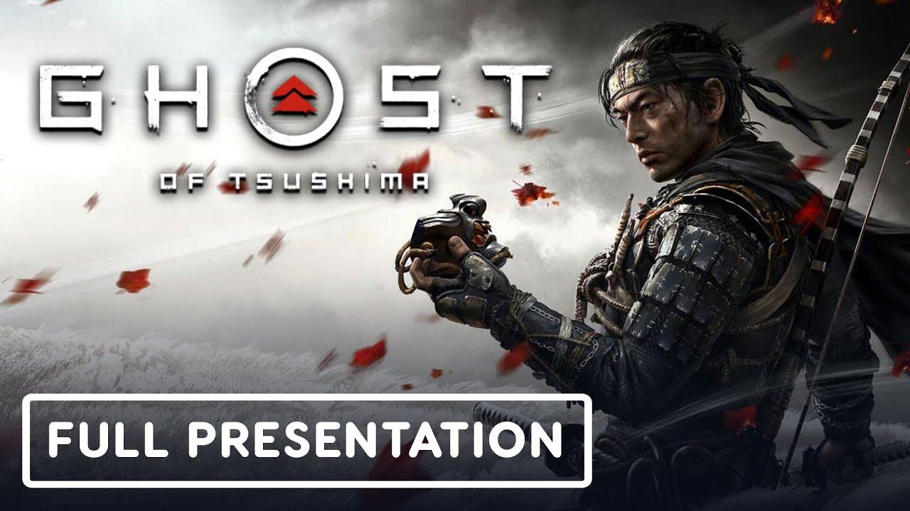 Геймплейный трейлер игры Ghost of Tsushima