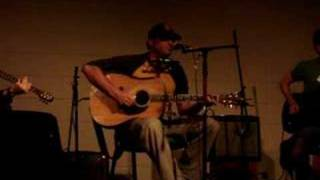 Dan Bern singing Black Tornado at Earlham College