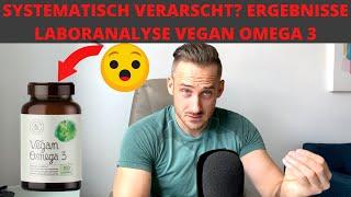 Wie ihr von Alphafoods getäuscht werdet - Vegan Omega 3 Laborergebnisse