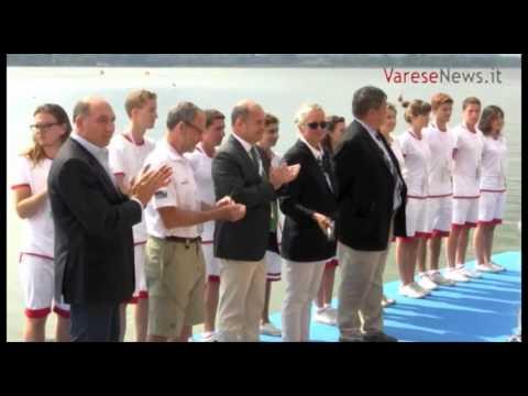 Cerimonia di conclusione dei World Rowing Masters Regatta 2013