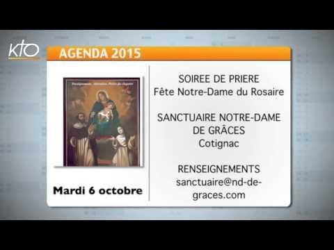Agenda du 2 octobre 2015