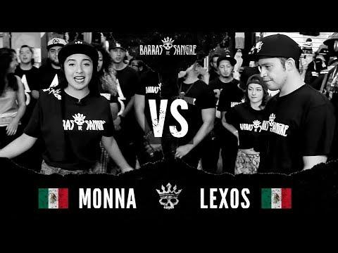 Barras De Sangre: Monna 🇲🇽 vs Lexos 🇲🇽  [ Batallas Escritas ]