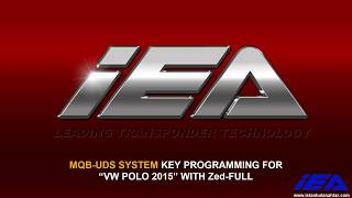 """MQB-UDS SYSTEM KEY PROGRAMMING FOR """"VW POLO 2015"""" WITH Zed-FULL"""