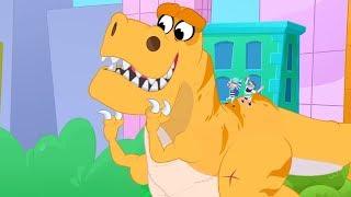 Morphle | Dinosaur Bandits! | Animals for Kids | Learning for Kids | Kids Videos