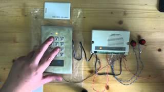 Montage und Programmierung des Sygonix Transpondercodeschlosses Teil 2