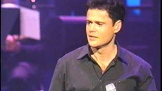 (DONNY OSMOND THIS IS THE MOMENT)