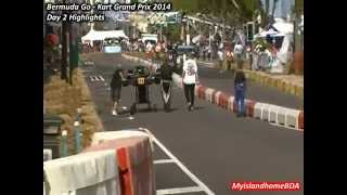 preview picture of video 'The Thrills and Chills - Go Kart Grand Prix Day 2 Highlights'