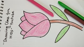 Simple Flower Drawing Videos For Kids