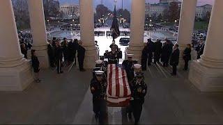 Прощание с Бушем-старшим