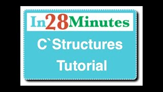 C Structures Tutorial - with Example Programs