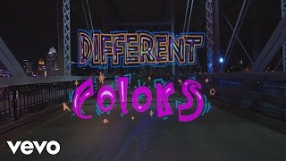 WALK THE MOON - Different Colors (Official Lyric Video)