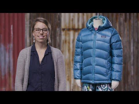 Patagonia Girls  Hi-Loft Down Sweater Hoody pas cher - Doudoune fille aca7446da26