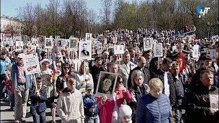 НТ впервые показал шествие «Бессмертного полка» в прямом эфире