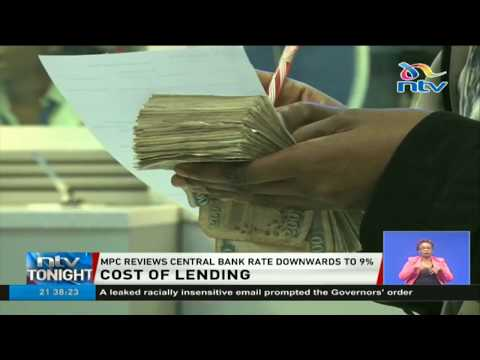 Monetary Policy Committee reviews central bank lending rate downwards to 9%