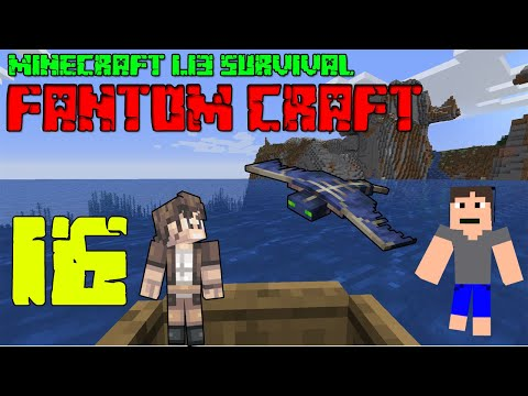 PIRÁTSKÁ LOĎ ! Minecraft survival 1.13.2! #16 |FANTOM CRAFT| /wNeoxitCz