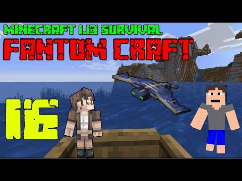 PIRÁTSKÁ LOĎ ! Minecraft survival 1.13.2! #16 |FANTOM CRAFT| /wNeoxitCz