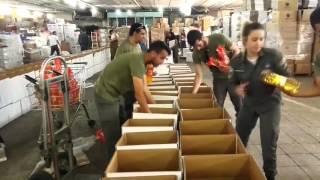 """Yad B'eyad"" distributing food for Passover 2016"