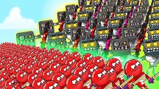 КАК МЕНЯЛСЯ КРАСНЫЙ ШАРИК в Игре Боумастер ЕГО ЖИЗНЕННЫЙ ЦИКЛ Bad Baby Bowmasters Бовмастерс Ball