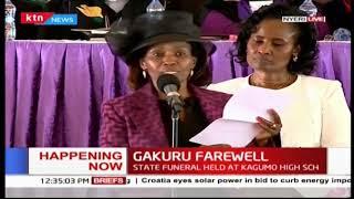 Catherine Gakuru:The late Wahome Gakuru was a hustler just like Dp William Ruto