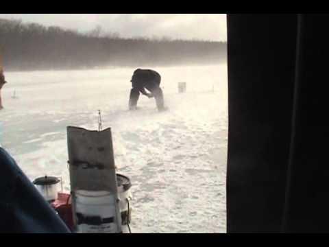 Ice Fishing at Long Pond, NY