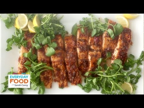 Salmon with Brown Sugar and Mustard Glaze – Everyday Food with Sarah Carey